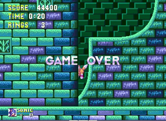 Sonic the Hedgehog 3 - A crushing defeat - User Screenshot